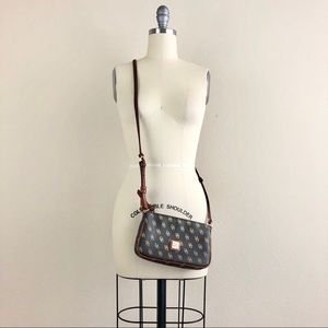 Dooney & Burke DB Print Small Crossbody